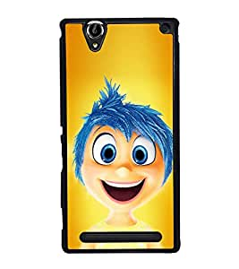Inside Out boy Back Case Cover for SONY XPERIA T2