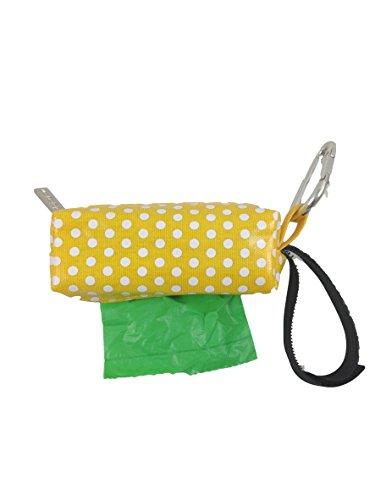 Doggie Walk Bags Duffel Bags for Dogs, Rainforest, Yellow Dot, Green by Doggie Walk Bags (Poop Taschen Hund Waste)