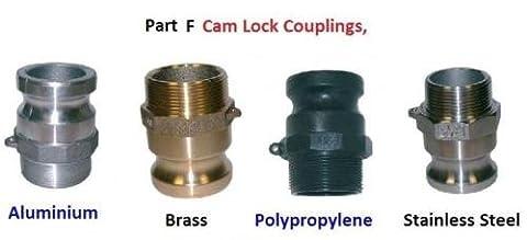 """Cylindre Raccord, Tuyau femelle, mâle, Queue–Type F Cam & Groove–en aluminium, 1/2"""""""