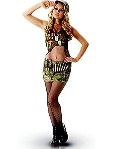 Rubies 810571L Disfraz Oficial de Annie Stag para Despedida de Soltera, para Mujer, Grande