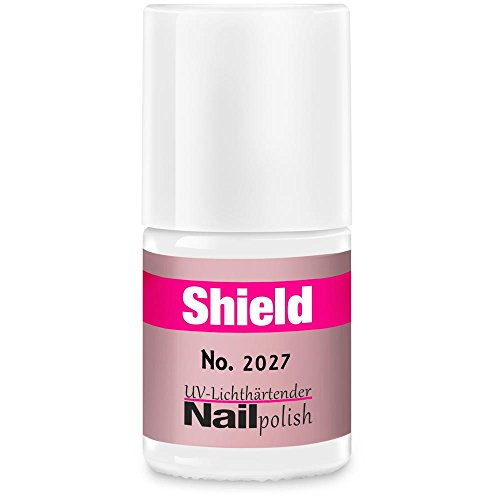 Gel-Lack - Shield Lack - LED & UV-Nagellack Hell-Rosa 2027 (Uvp Uv-lampe)