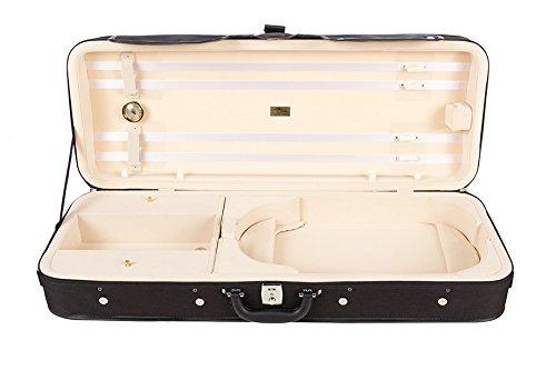 Bratschenkoffer Schaumstoff Premium 38-43 cm cream M-Case