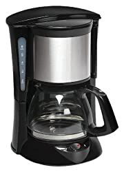 Havells Drip Caf 6 0.65-Litre 600-Watt Stainless Steel Coffee Maker (Black)