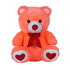 Ultra Spongy Teddy Bear Soft Toy Gifts, Carrot (15-inch)