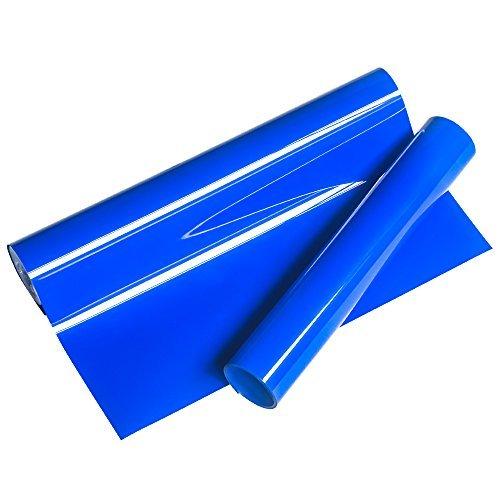 VINYL FROSCH HTV 25x155cm Royal Blue Premium PU Wärmeübertragung Vinyl-Verwendet mit Wärmepresse Werkzeugmaschine