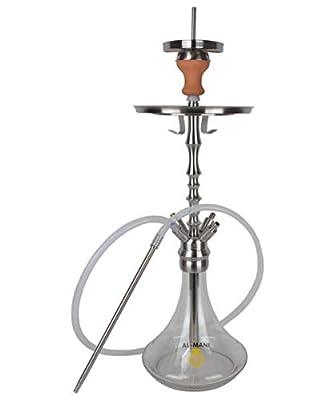 Al-Mani Shisha Z-200 Transparent mit Magnetverschluss von Al-Mani