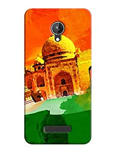 Back Cover for Micromax Canvas Spark Q380