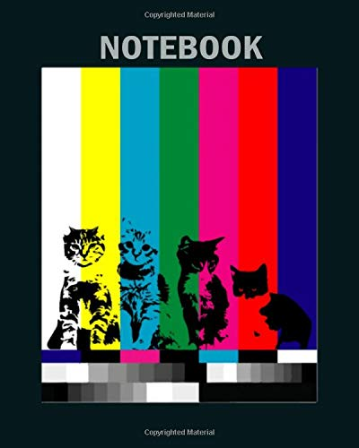 Notebook: tv test cat1 - 50 sheets, 100 pages - 8 x 10 inches