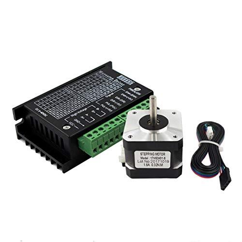 LouiseEvel215 17 Schrittmotor 42 Motor 1.3A mit TB6600 Schrittmotortreiber NEMA17 23 CNC-Laser- und 3D-Drucker - Nema Netzteil