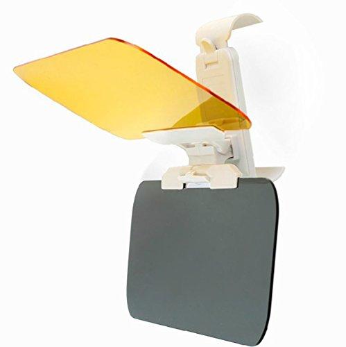 Preisvergleich Produktbild MOONPOP Universell 2 in 1 HD-Vision Visor Tag und Nacht Fahren Sonnenblende Sonnenschutz Sichtschutz für Autos und Vans