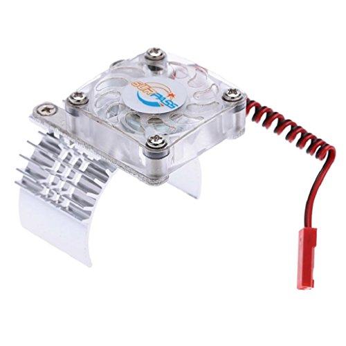 Sharplace 540 550 Motor Kühler Kühlkörper mit Lüfter für 1/10 Auto RC