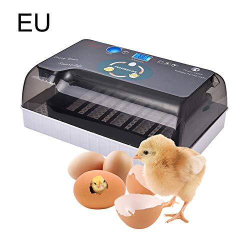 WanNing Eier Brutthermometer, Pavo Thermometer, Brutzuckermotor, Digital Inkubator komplett automatisch, geeignet für alle Arten von Eier EE.UU. USA