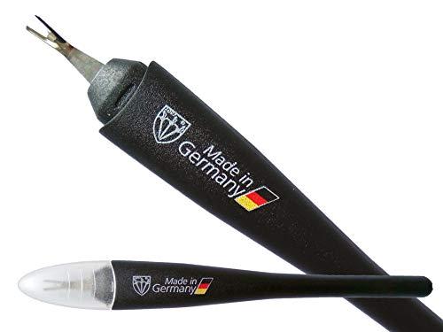 DREI SCHWERTER - Nagelhautmesser/Nagelhautentferner (2 Stück) - Markenqualität - Made in Germany