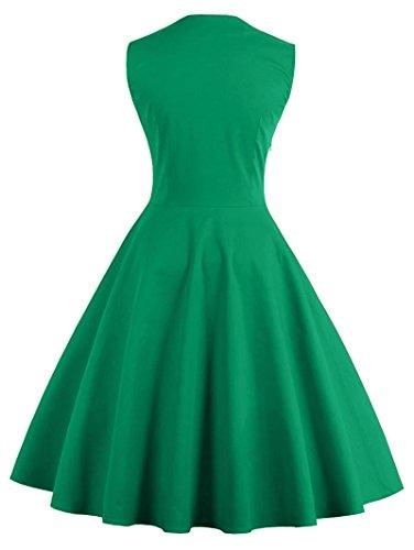Lacus-UK - Robe - Femme green