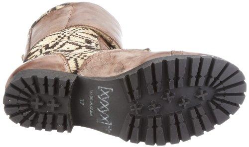 xyxyx Booty XY0189, Stivali donna Marrone (Braun/brown)