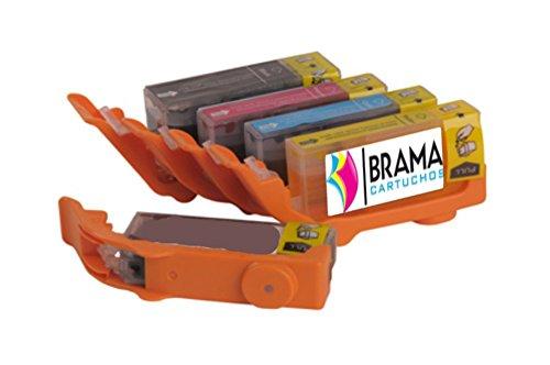 5-x-cartuchos-comestibles-compatibles-con-canon-pgi-550-y-cli-551-un-cartucho-de-cada-color-pgi-550-