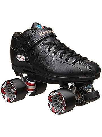 Riedell Skates R3 Roller Skate,Black,6 by Speed