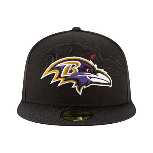 New Era NFL BALTIMORE RAVENS Authentic 2016 On Field 59FIFTY Game Cap Black