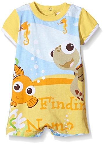 Disney Baby Findet Nemo Jungen oder Mädchen Body Kurzarm,Mehrfarbig (Vitamine),6-12 Monate (Herstellergröße: 12 Months)