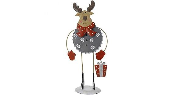 4 Figuren Schneekugel Weihnachtsfigur Weihnachtsmann Schneemann Rentier Pinguin