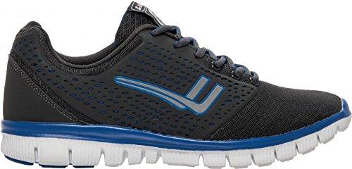 Killtec Uomini calzature sportive e per il tempo libero Stale 28.723-00.203 antracite grau/kombi