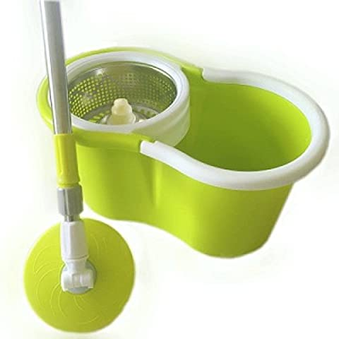 Hand Pressure Double Drive Automatic Rotation Mop Bucket