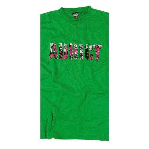ADDICT Longsleeve PUNK STENCIL Green