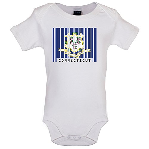 connecticut-barcode-flagge-lustiger-baby-body-weiss-12-bis-18-monate