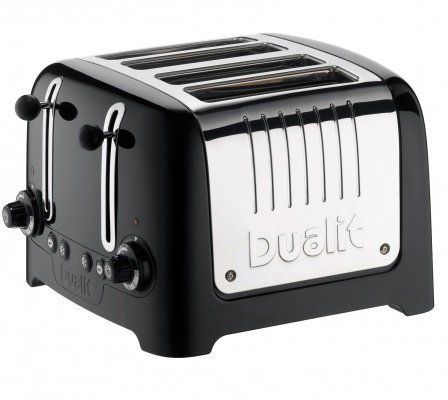 Dualit 4 Slice Toaster Metallic Black