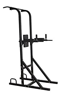 Magic Home Gym Free Standing Pull Up Bar,Parallel Bar,Dips Stationand Push Up Bar- Power Tower