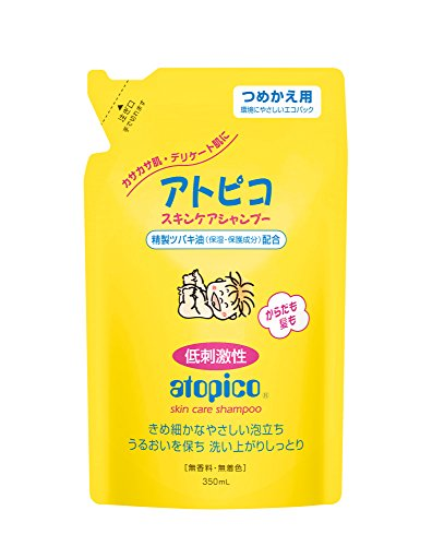 Atopico skin care shampoo refill 350ml (japan import)
