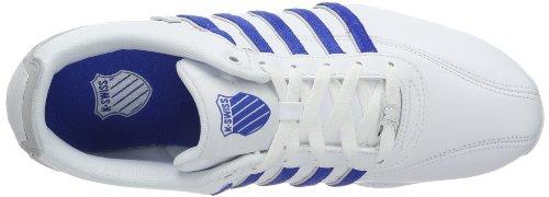 K-Swiss Herren Arvee 1.5~Blk/Opal Gray/Wht/Tango Red~m Sneakers Weiß (WHITE/VICTORIA BLUE/GULL GRAY 141)