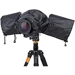 Caméra étanche Housse de Pluie, Idéal pour Canon Nikon et Autres appareils Photo Reflex numériques Pluie Dirt Sable Snow Protection # 980709