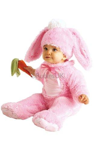 Rubbies - Disfraz de conejo para bebé niña, talla 0 - 6 meses (885352-0-6)