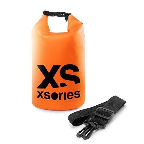X-Sories Erwachsene Wasserfester Seesack Stuffler Wasserabweisender Sack aus langlebigem Orange, 8 liter Urban Waterproof Boot