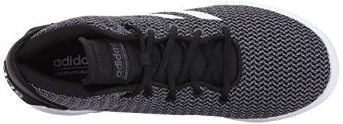 adidas NEOCF Refresh Mid - Baskets Semi-Montantes CF Refresh Mid Homme Black/White/Grey Five