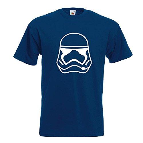 KIWISTAR - Stormtrooper - Sturmtruppen - First Order T-Shirt in 15 verschiedenen Farben - Herren Funshirt bedruckt Design Sprüche Spruch Motive Oberteil Baumwolle Print Größe S M L XL XXL Navy