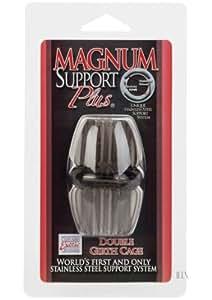 Support double anneau de circonférence Magnum de la fumée