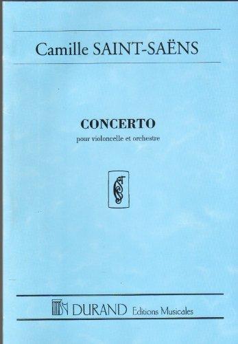 Concerto N 1 Op 33, Pour Violoncelle Et Orchestra