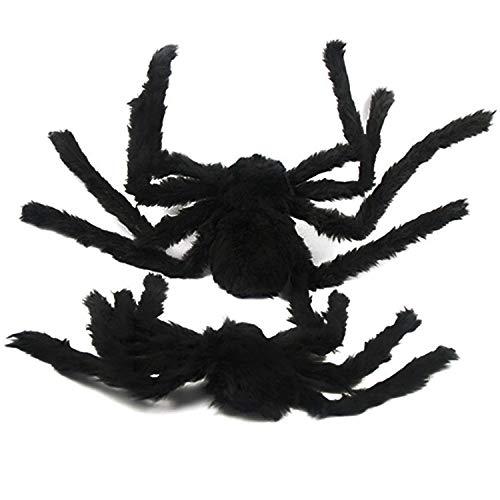 Bihood Scary Spider Streich Scary Spider Scary Spinne Halloween Black Spider Spielzeug Spider Toy Spider Spielzeug für Jungen Black Widow Spider Spielzeug für Mädchen Spider Toy Realistische