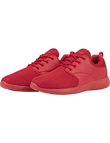 Urban Classics Light Runner Shoe, Baskets Basses mixte adulte Rot (firered/firered 715)
