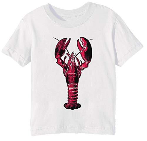Hummer - Hummer Kinder Unisex Jungen Mädchen T-Shirt Rundhals Weiß Kurzarm Größe L Kids Boys Girls White T-Shirt Large Size L
