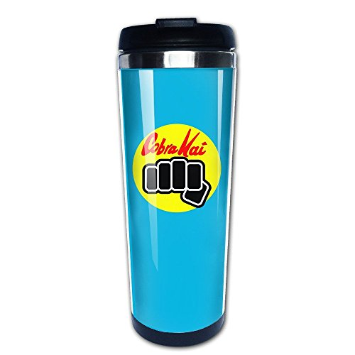 41%2BIVzD5ifL - Taza take away de Cobra Kai azul