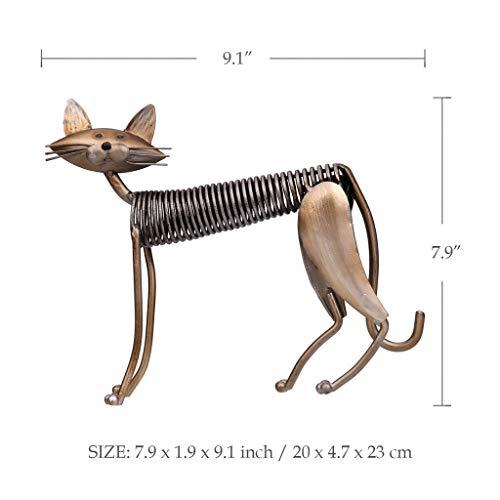 Kostüm Katze Göttin - Yxyxml Kreative Heimat Wohnzimmer Dekoration Moderne Metall Dekoration Handwerk Geschenke Frühling Katze (Size : C)