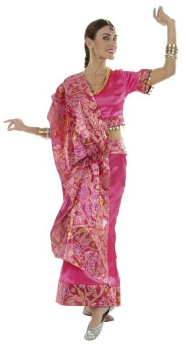 Imagen de cesar  disfraz de bailarina india para mujer adulto , talla 40 cm