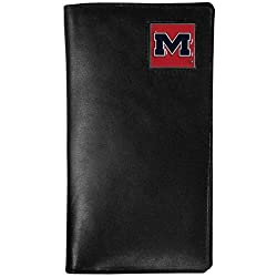 NCAA Mississippi Old Miss Rebels Tall Leather Wallet