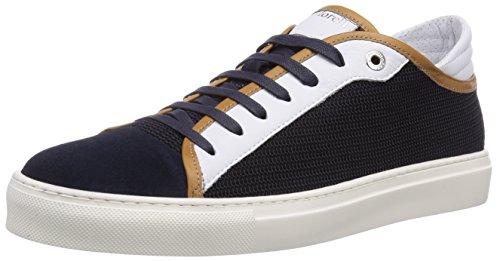 Andrea Morelli FASHION SNEAKER, Low-Top Sneaker uomo, Blu (Blau (CAM.BLU/TESS.BLU)), 39