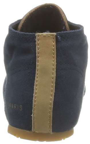 Eleven Paris Bascan, Baskets mode mixte adulte Bleu (Navy)