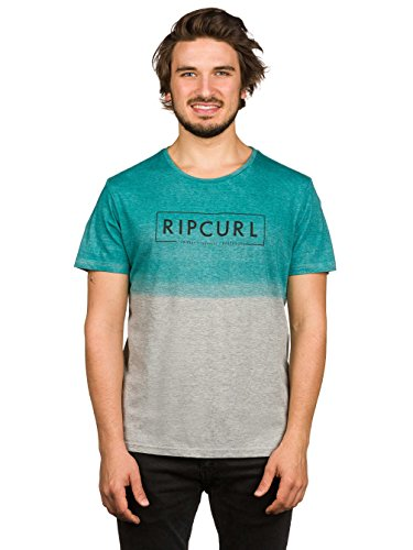 2017 Rip Curl Tie and Dye Tee CEMENT MARLE CTEVP4 Sizes- - Small