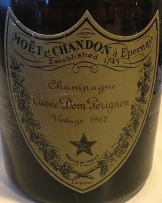 Dom Perignon Oenotheque 1962
